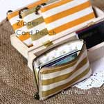 Zipped-Up Card Holder