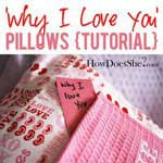 Love Note Pillow
